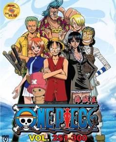 DVD ANIME ONE PIECE Vol.251-300 Box Set