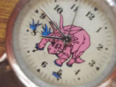 Vintage kid dinosaur watch