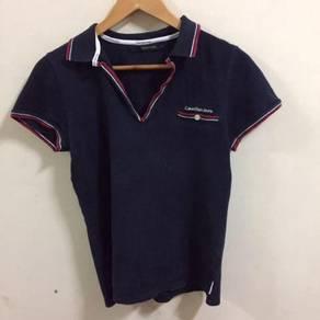 Calvin Klein Jeans Polo Shirt Size L