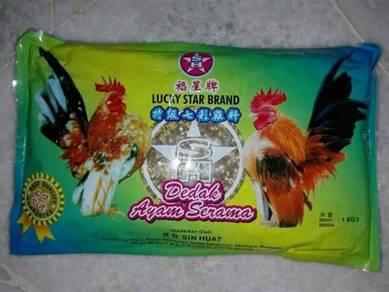 LuckyStar Chicken Dedak Ayam Serama 302Crumble1kg