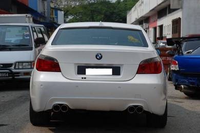BMW E60 M Sport 3D Diffuser Hamann Wald diffuser