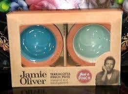 Jamie Oliver Pinch Pot set Terracotta