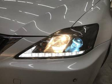 Lexus IS250 Head Lamp DRL