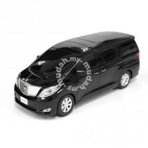 Model Koleksi Toyota Alphard hitam