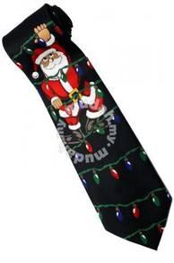 Christmas Santa Claus Xmas #31 Light Neck Tie