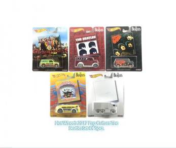 Hotwheels 2017 Pop Culture The Beatles Set Of 5pcs
