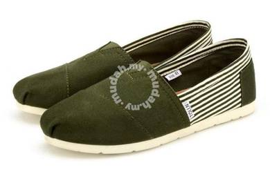 Irregular Canvas Male Shoes4