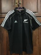 All Blacks Rugby media polo
