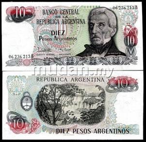 Argentina 10 pesos p 313 unc