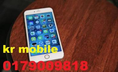 Gold color iphone -6- 16gb