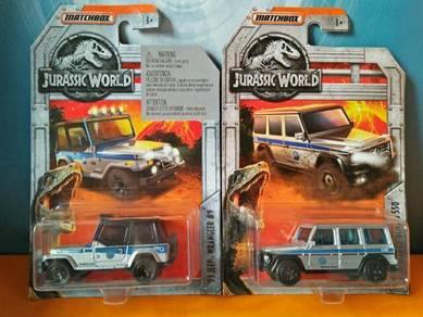 Non Hotwheels - Matchbox Jurassic World lot