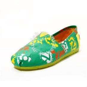 Irregular Canvas Female Shoes2