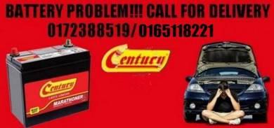Battery kereta delivery service century amaron