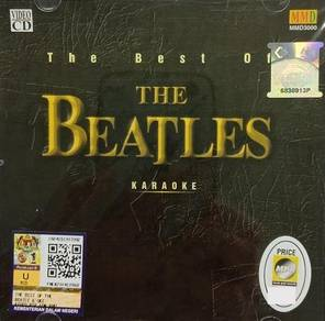 VCD The Beatles The Best Of Karaoke