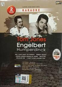 VCD Tom Jones Engelbert Humperdinck Super Star Bes