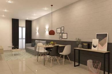 Just move in free installment 2 year 0 cost , Jln citta mall lrt