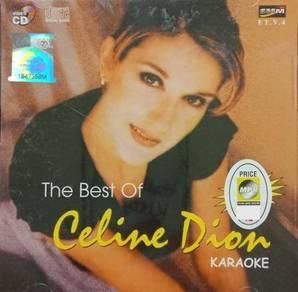 VCD Celine Dion The Best Of Karoke