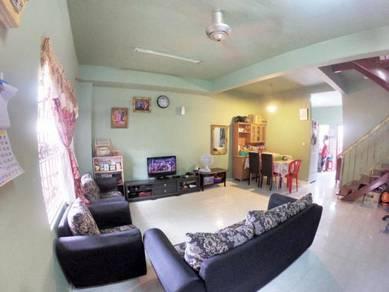 [EXIT LATAR+NEAR SCHOOL]Terrace 2sty 4R3B 1320Sqft Bandar Tasik Puteri