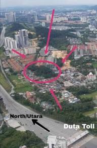 (Nego) Land at Segambut Dalam For Sale