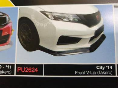 Honda city takero front lips lip diffuser bodykit