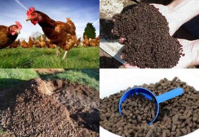 Organic Fertilizer and Hydrated Lime Powder