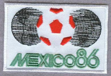 1986 13th FIFA World Cup Mexico Football Patch