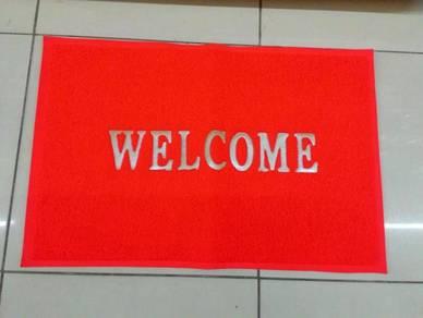 Tikar lantai selamat datang shop Welcome floor mat