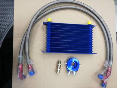 Oil Cooler Kits 10 & 13 Rows Alloy
