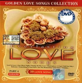 DVD Everlasting Love Songs Part 4 Karaoke