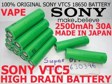 Sony VTC5 18650 3.7V Li-ion Vape Battery 2500mAh