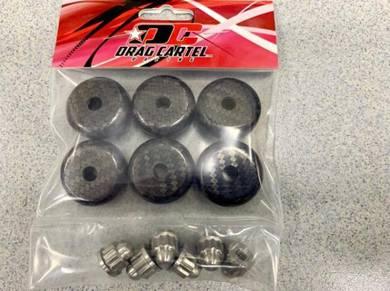 Drag Cartel K-Series Carbon Valve Cover Washer Set