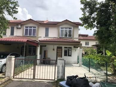 Double Storey Terrace House at Nusantara Gelang Patah