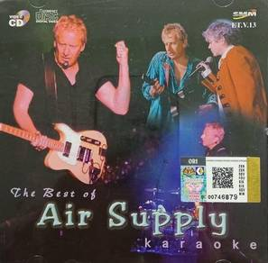 Air Supply The Best Of Karaoke VCD