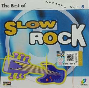 VCD The Best Of Slow Rock Karaoke Vol.5