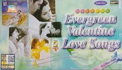 VCD Evergreen Valentine Love Songs Karaoke