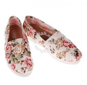Irregular Canvas Female Shoes17