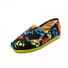 Irregular Canvas Female Shoes4