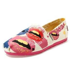 Irregular Canvas Female Shoes10