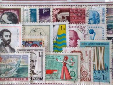 Setem Hungary stamps