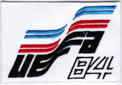 1984 7th France UEFA European Euro Football Patch