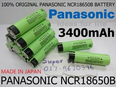 Panasonic NCR18650B 3.7V 3400mAh Li-Ion Battery