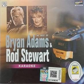 Bryan Adams Rod Stewart The Best Of Karaoke VCD