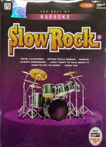 VCD Slow Rock 2 The Best Of Karaoke