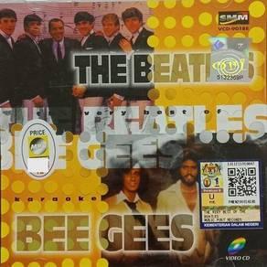 VCD The Beatles Bee Gees Karaoke