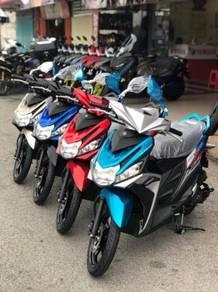 2021 new yamaha ego solariz scooter dp rendah bmm