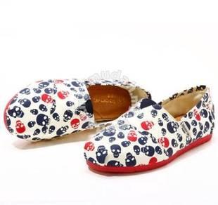 Irregular Canvas Female Shoes5
