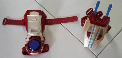 Original Iron man wrist gadgets children kids toy