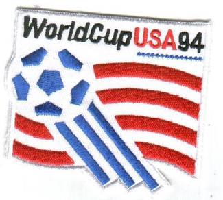 1994 15th FIFA World Cup United States USA Patch