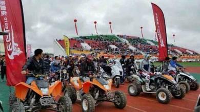 ATV EGL orange kl white 300cc