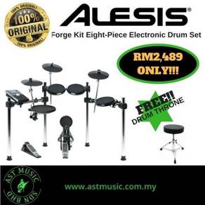 Alesis Forge kit electric drum with throne